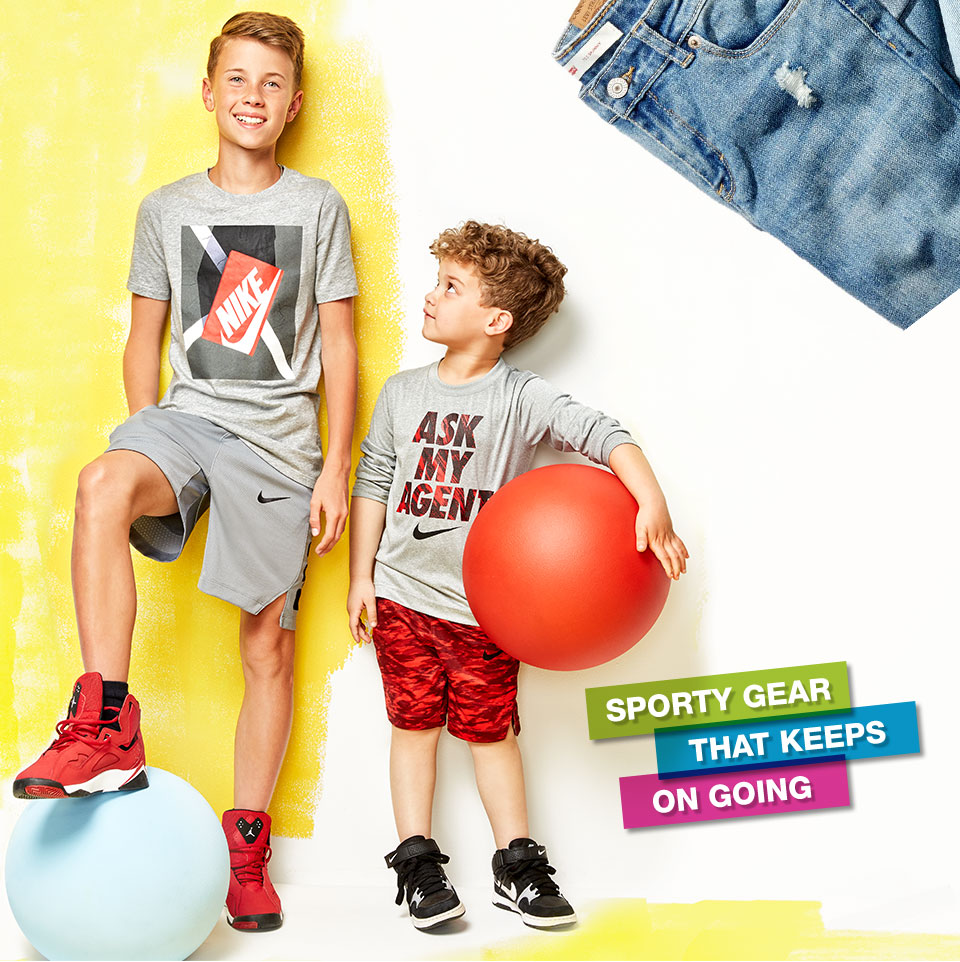 sporty gear that keeps going