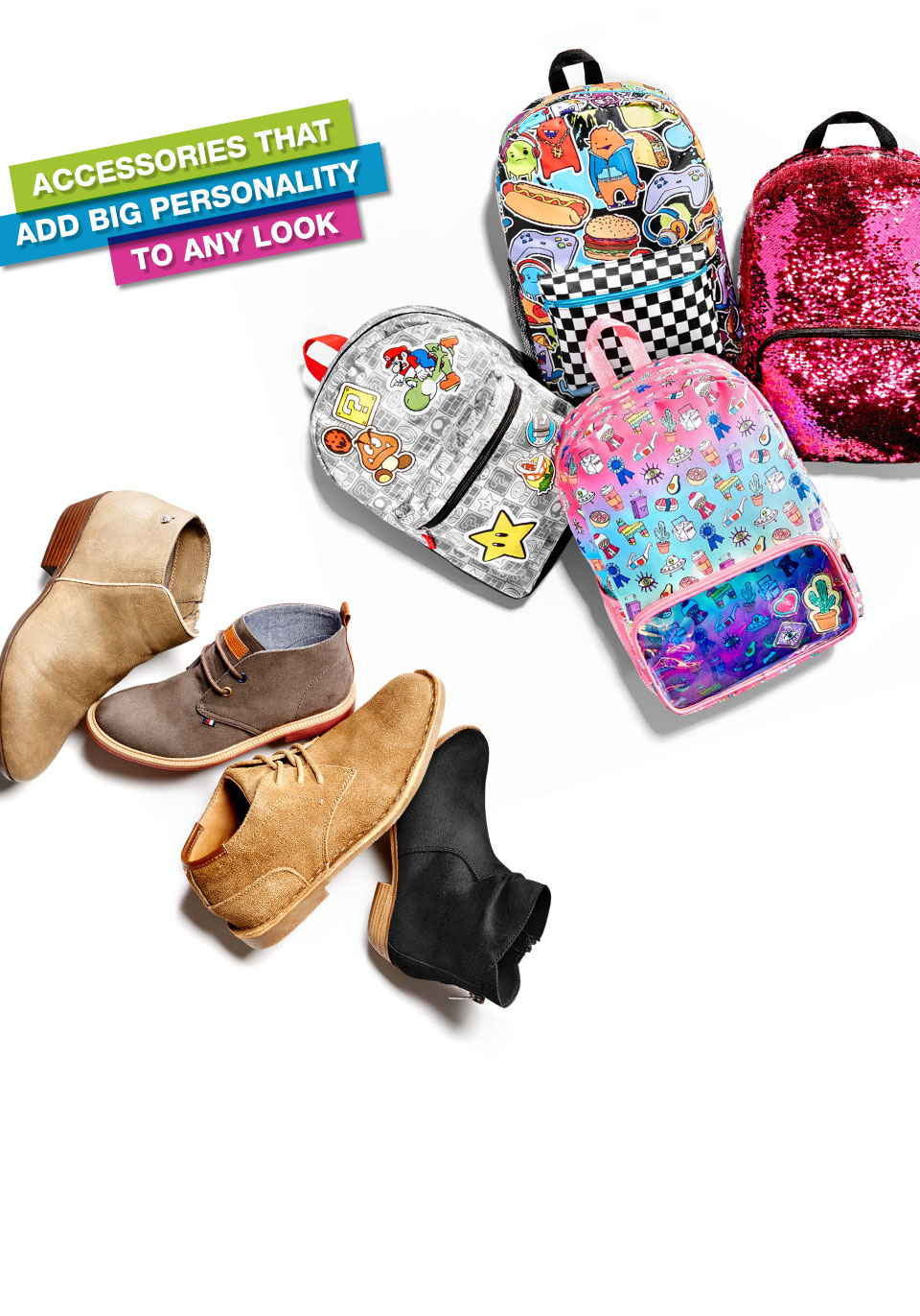 accessories that add big personality to any look
