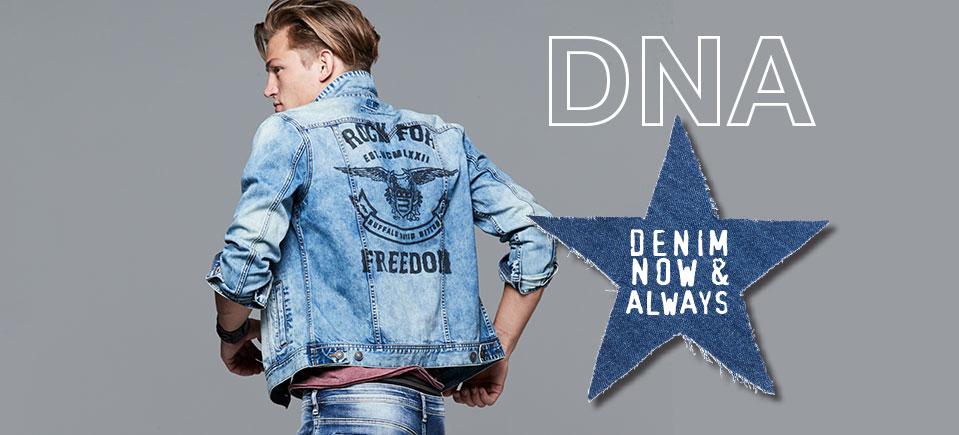 DNA Denim now and always.