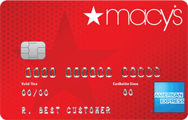 Macy's American Express credit card