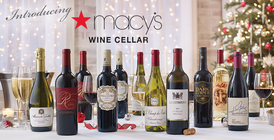 Introducing Macy's Wine Cellar