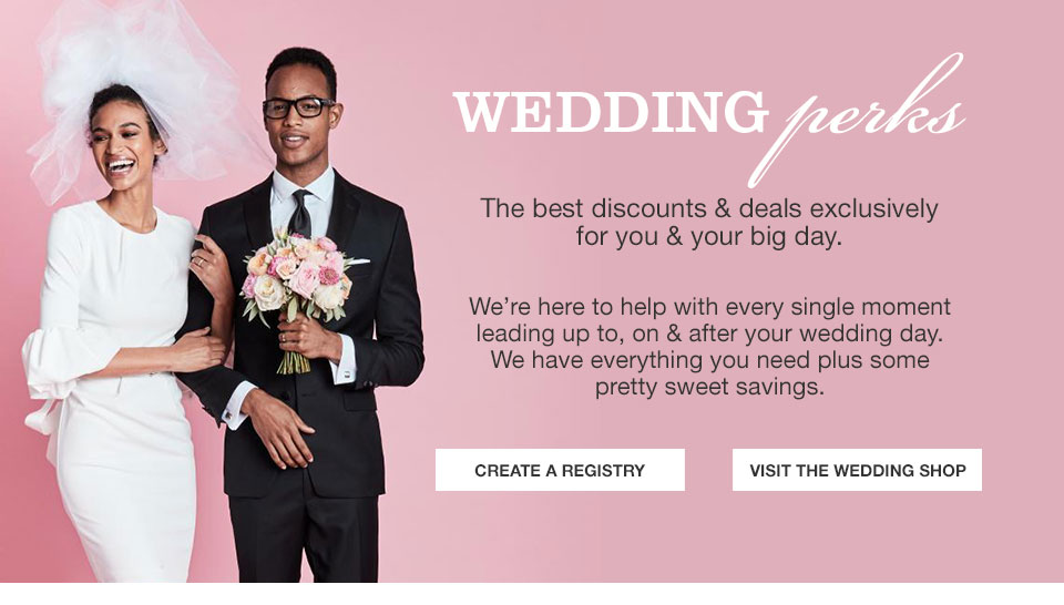 Wedding Registry Perks Coupons Macys