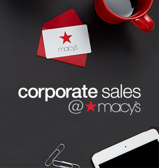 corporate sales at macy's