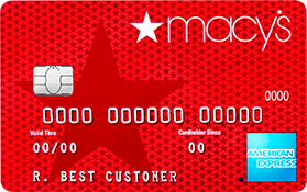 Macy's American Express credit card