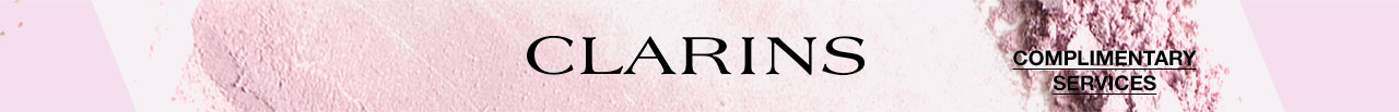 CLARINS, COMPLIMENTARY SERVICES