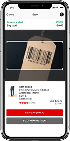 Check Out - Scan & Pay - Macy's