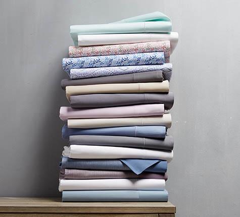 Sheets On Shelf ...
