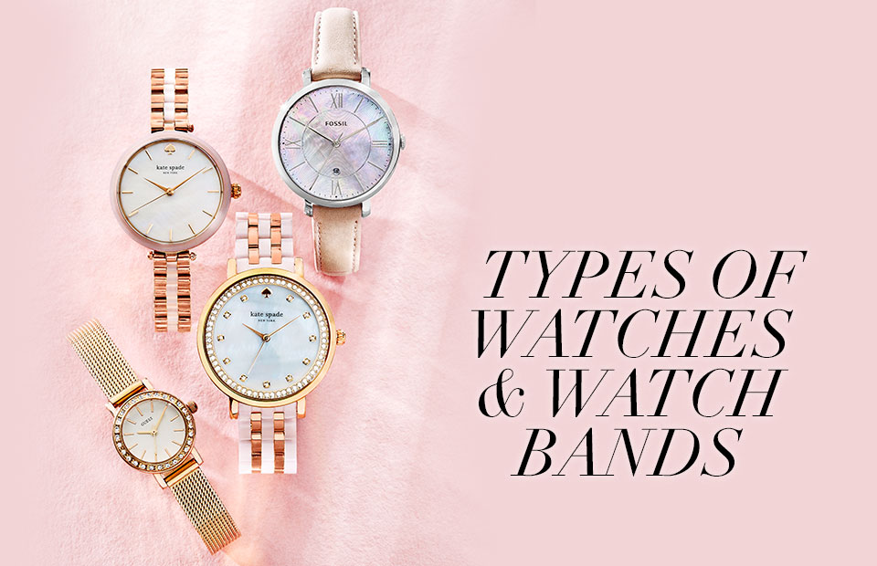 Types Of Watch Bands >> Types Of Watches Watches Bands Watches Buying Guide Macy S
