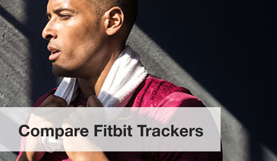 compare fitbit trackers