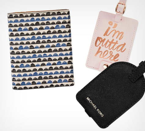 PASSPORT CASES and LUGGAGE TAGS
