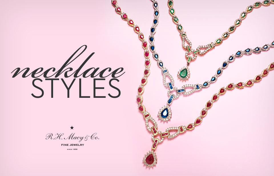 Types of necklaces how to buy jewelry macys necklace styles necklace styles aloadofball Images