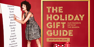 the holiday gift guide. our favorite gifts of the season. shop gifts we love