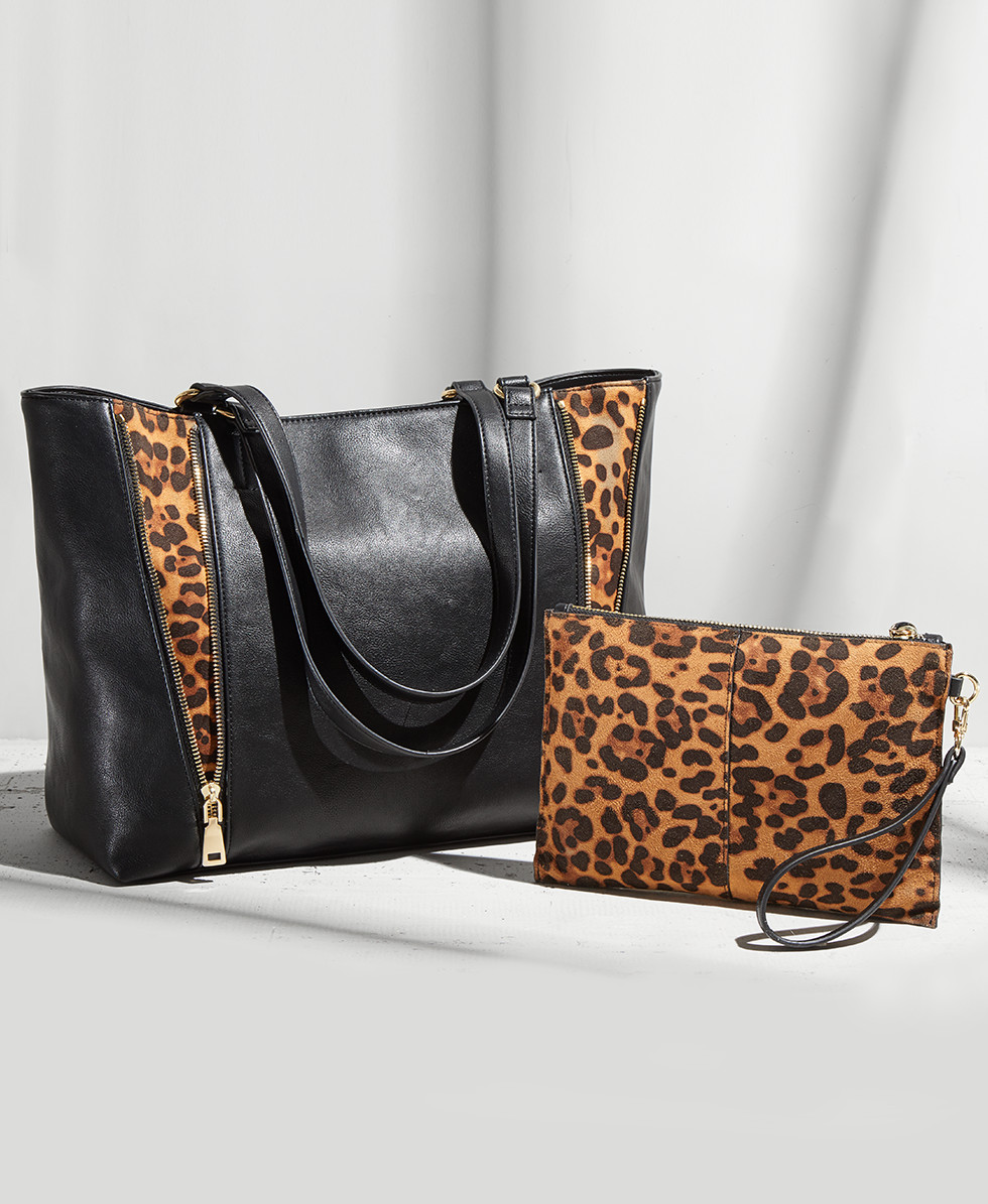 8c88d712db5d The Animal-Print Bag. Flaunt your fierce side with animal-print handbags