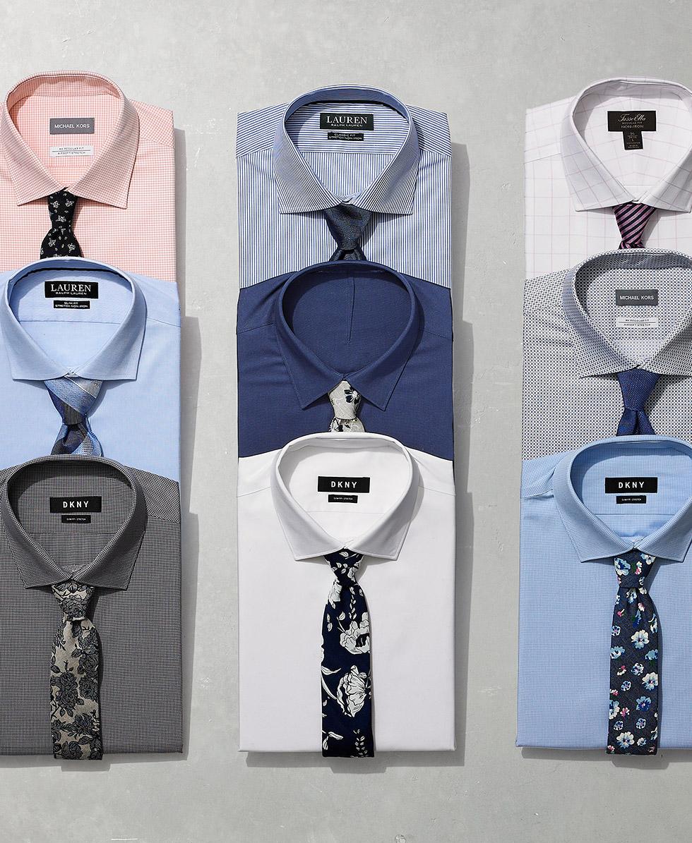 3ffe36013fe Men s Dress Shirt Guide - Macy s