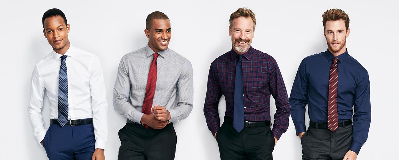 Men S Dress Shirt Guide Macy S