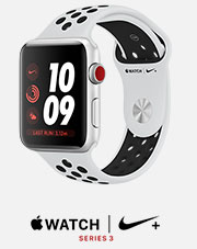 apple watch series three nike plus