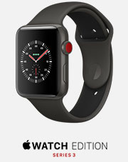 apple watch edition series three