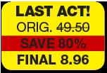 Last act original 49.50 save 80% final 8.96