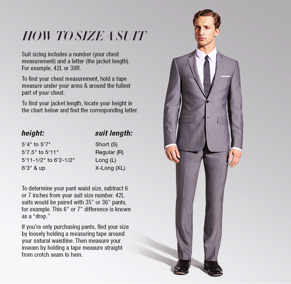Buying the right size suit jacket makes the difference between being uncomfortable and feeling good. When you feel good, you will look good and portray confidence and calm to others, which can be important both at work and in social situations.