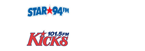 media partners star 94 FM. Kicks 101.5 FM