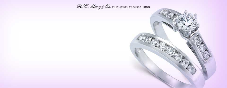 diamond color - Macy Wedding Rings