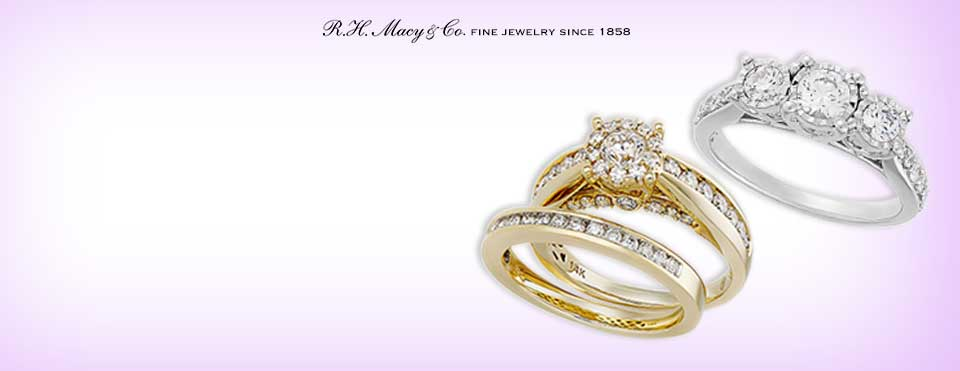 engagement ring settings styles - Macy Wedding Rings