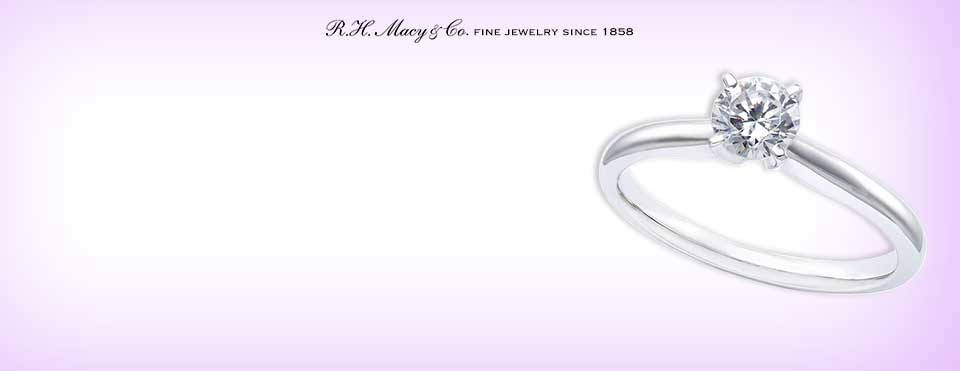 diamond grading the 4 cs of diamonds - Macy Wedding Rings