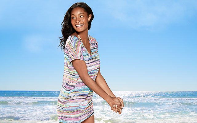 Swimsuit and Beach Cover-Ups