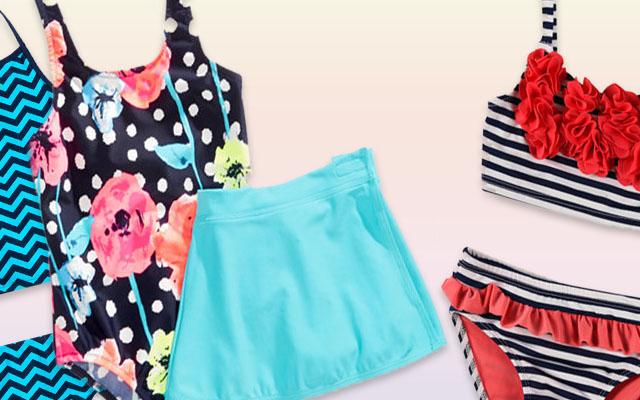 Girls' Swimsuit Styles & Trends
