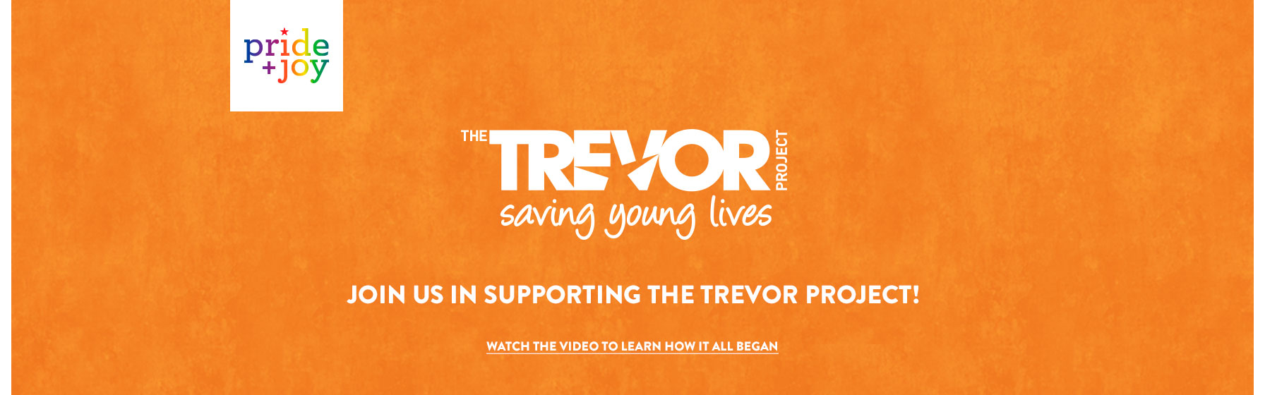 the trevor project saving young lives. join us in supporting the trevor project!