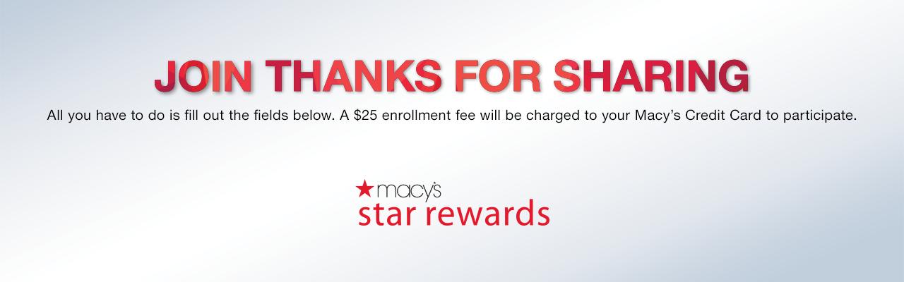 Thanks For Sharing Macys