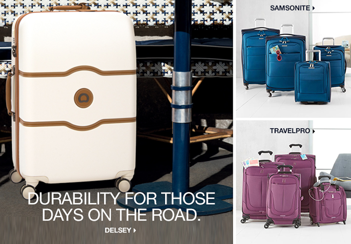Durability For Those Days on the Road, Delsey, Samsonite, Travelpro