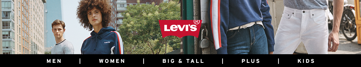 Levi's, Men, Women, Big and Tall, Plus, Kids