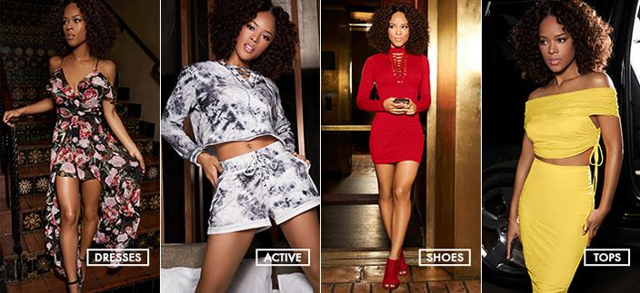 Dresses, Active, Shoes, Tops