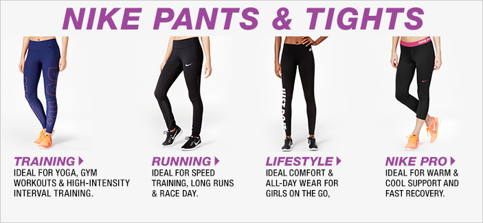 Nike Pants and Tights, Trainig, Running, Lifestyle, Nike Pro