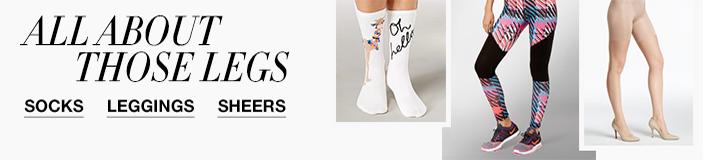 All About Those Legs, Socks, Leggings, Sheers