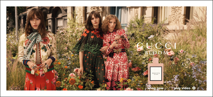 Gucci Bloom, Shop now, play video