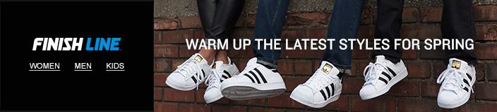 Finish Line, Warm up the Latest Styles for Spring