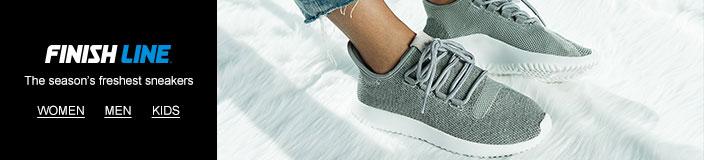 Finish Line, The season's freshest sneakers, Women, Men, Kids