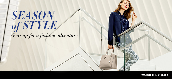 Michael Kors. Season of Style, Gear up for a fashion adventure, Watch the Video