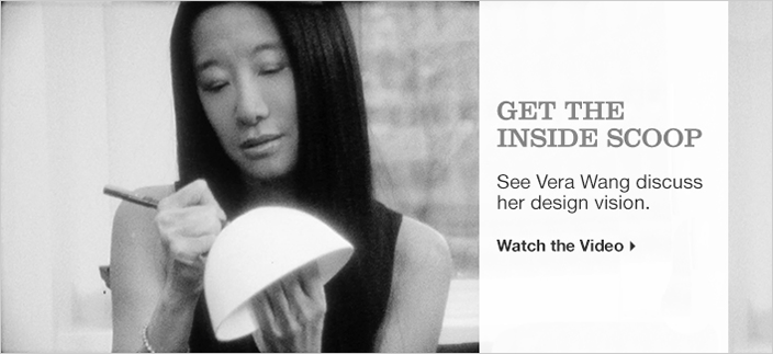 Get The Inside Scoop, See Vera Wang discuss her design vision, Watch the Video