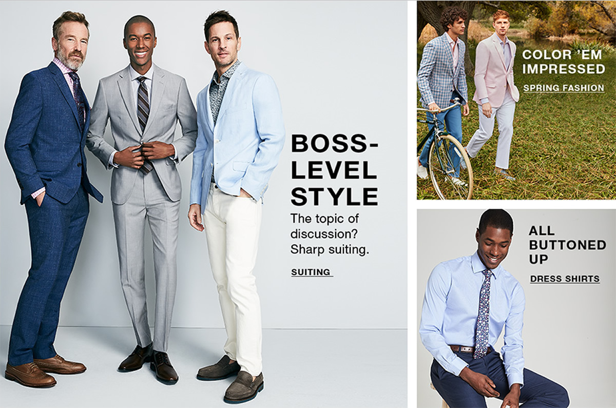 Boss-Level Style, The topic of discussion? Sharp Suiting, Suiting, Color 'em Impressed, Spring Fashion, All Buttoned up, Dress Shirts