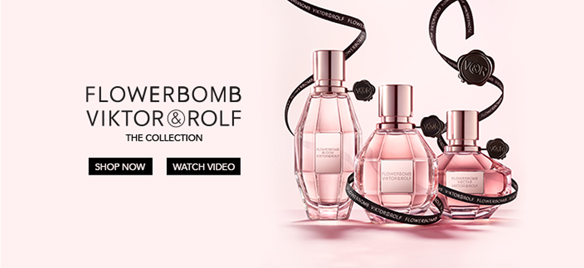 Flowerbomb, Viktor Rolf The Colleciton, Shop now, Watch Video