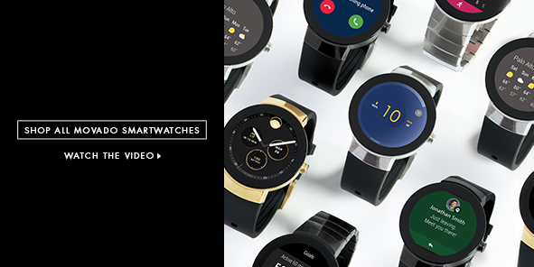 Shop All Movado Smartwatches, Watch the Video