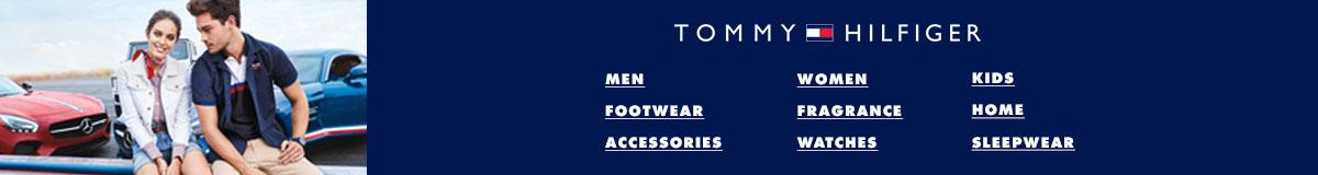 Tommy Hilfiger, Men, Women, Kids, Footwear, Fragrance, Home, Accessories, Watches, Sleepwear