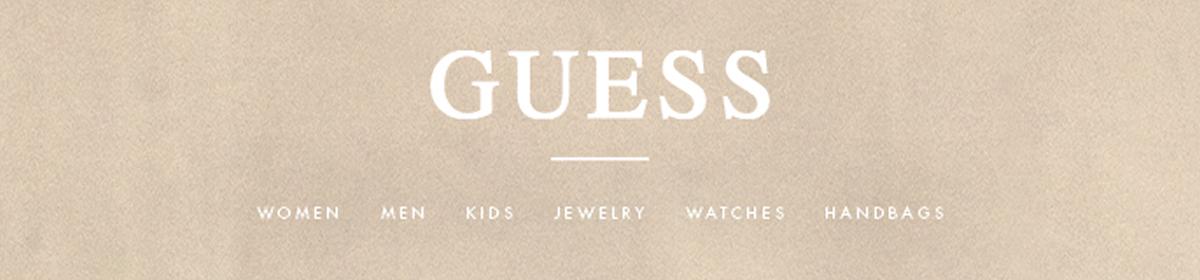 Guess, Women, Men, Kids, Jewelry, Watches, Handbags