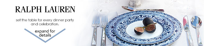 ralph lauren. set the table for every dinner party and celebration.