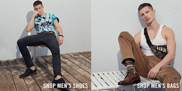 Shop Men's Shoes, Shop Men's Bags