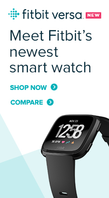 Fitbit, Versa, Meet Fitbit's newest smart watch, Shop Now, Compare
