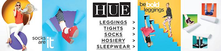 HUE Leggings, Tights, Socks, Hosiery, Sleepwear. Show now.